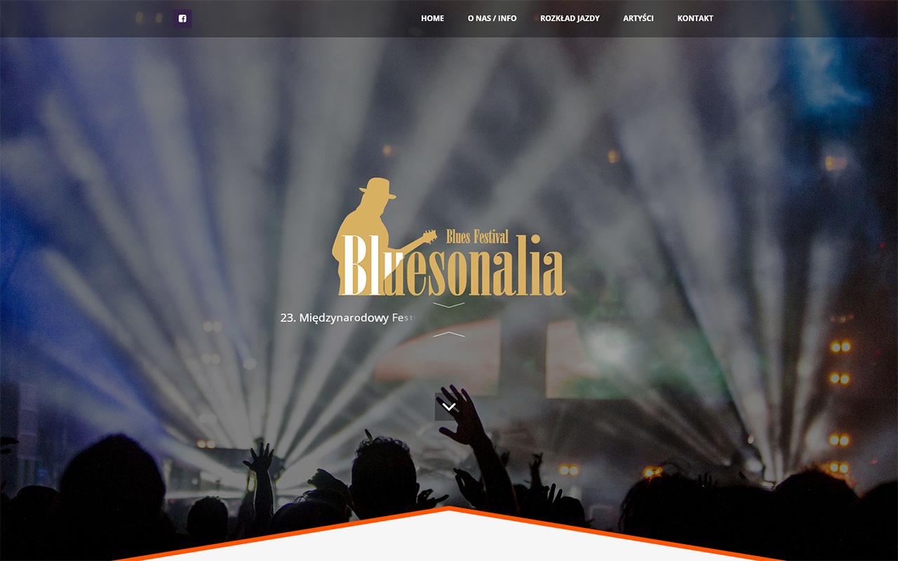 bluesonalia strona www