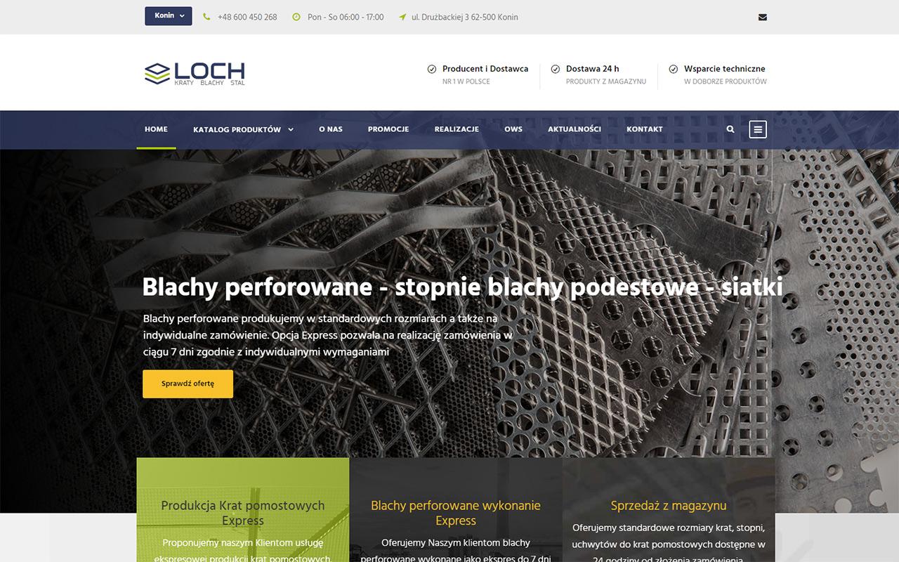 LOCH strona www